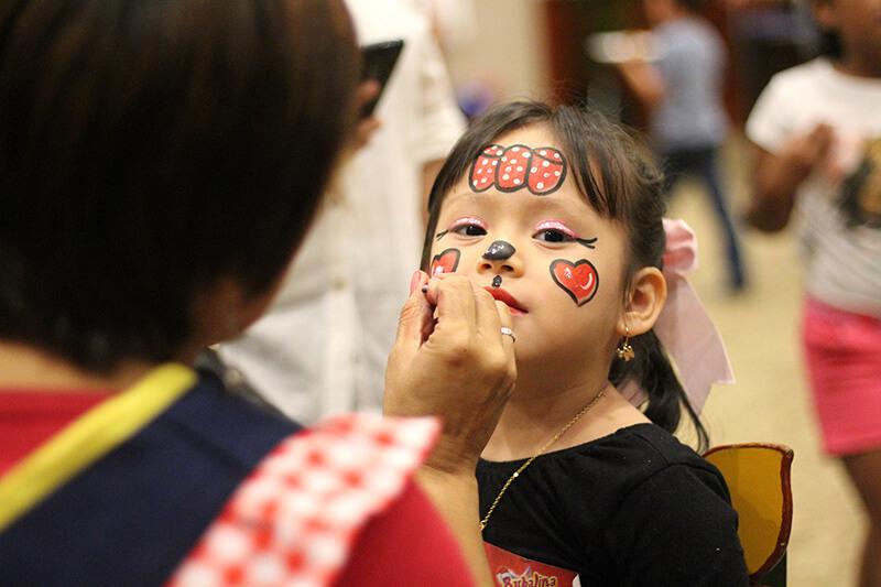 Servicio de caritas pintadas para shows infantiles