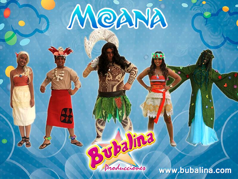 Fiesta infantil moana