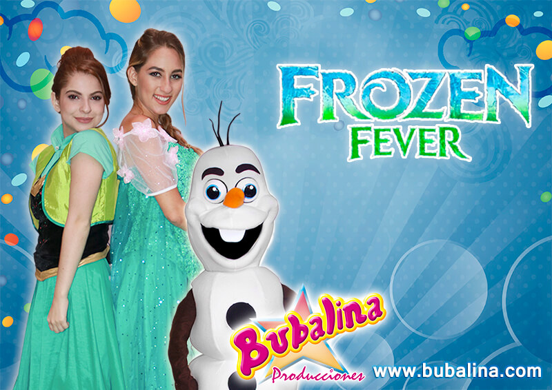 shows infantiles de frozen