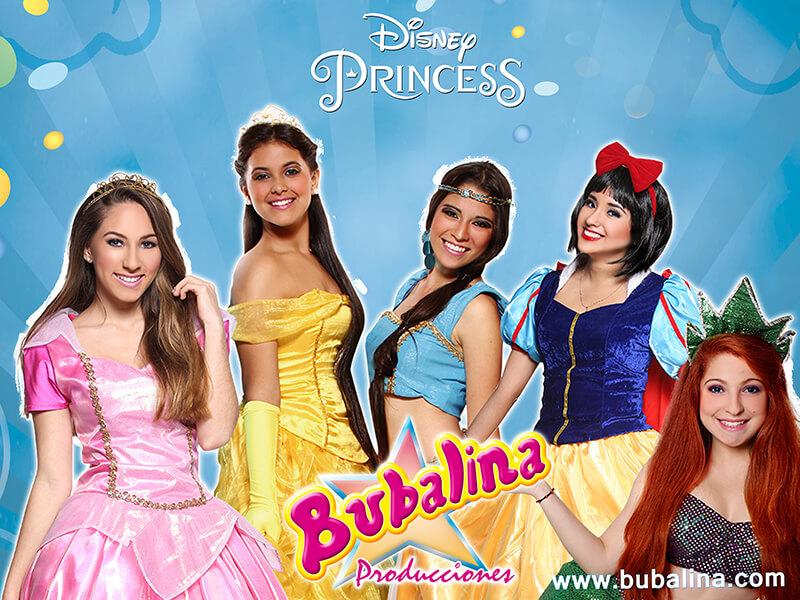 princesas de disney para fiestas infantiles