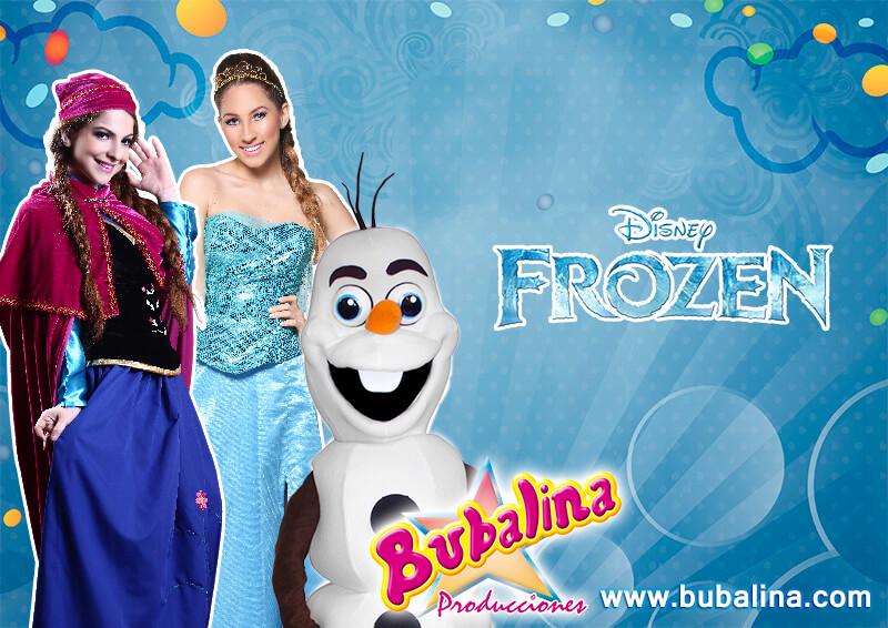 fiesta infantil de frozen