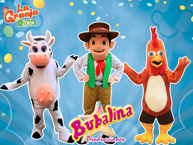 la granja de zenon para fiestas infantiles