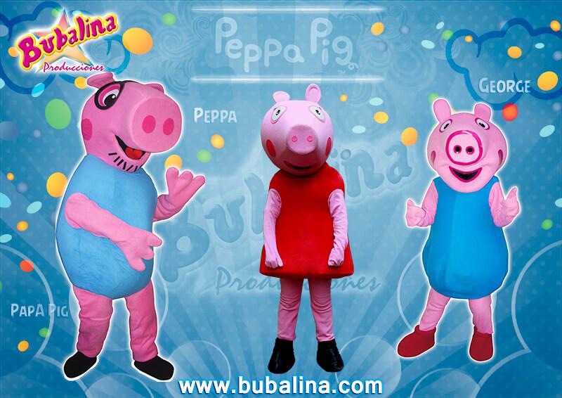 peppa pig para fiestas infantiles