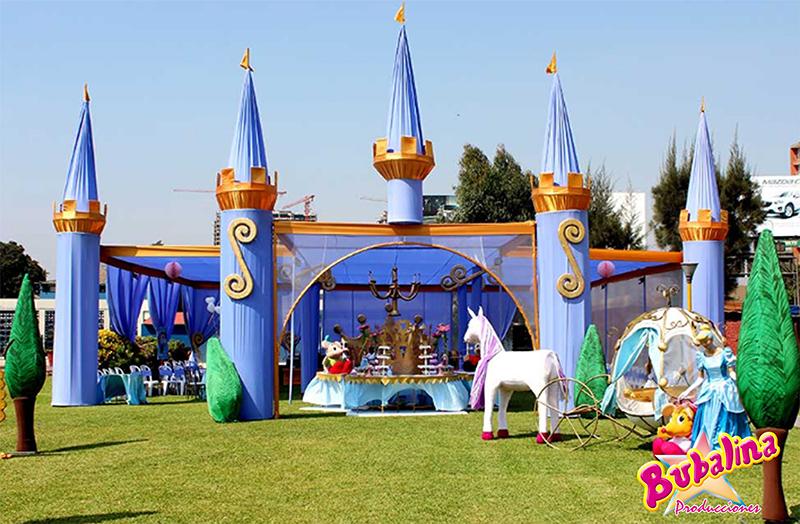toldos y decoraciones para eventos infantiles