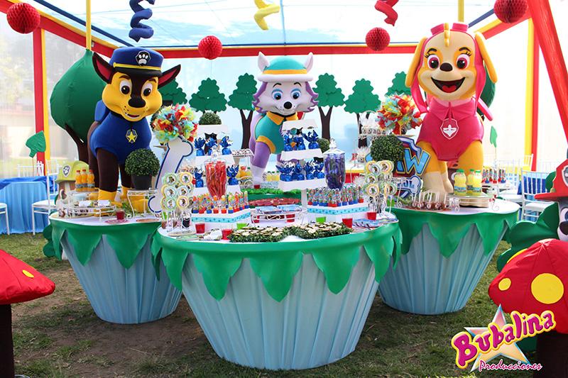 servicio de catering personalizado para fiestas infantiles
