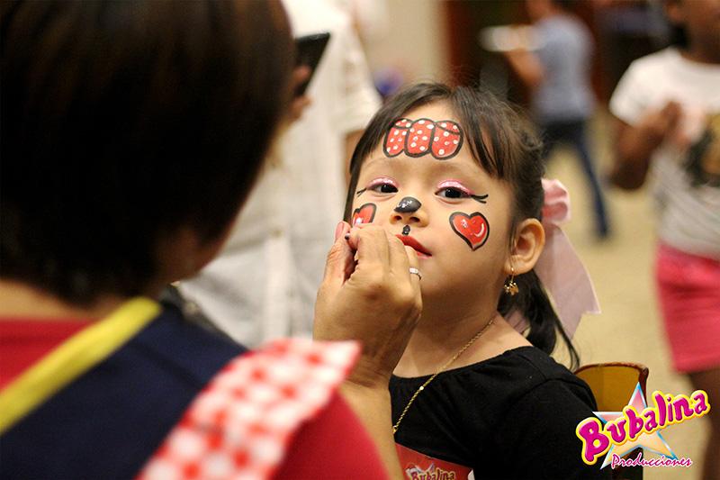 servicio de caritas pintadas para fiestas infantiles