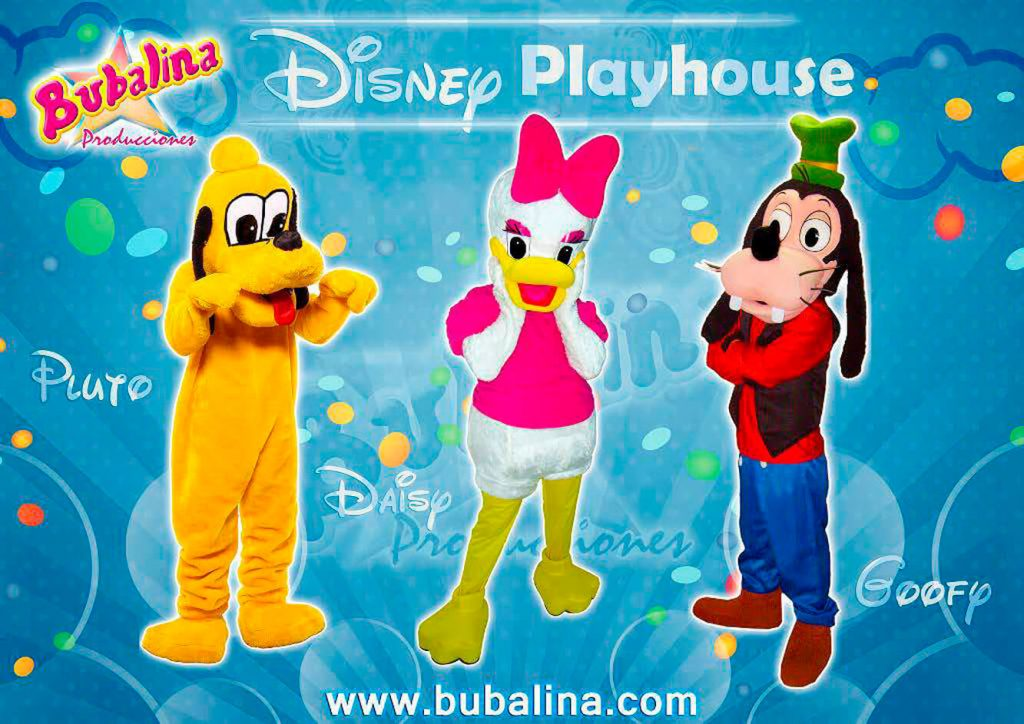disney playhouse para fiestas infantiles