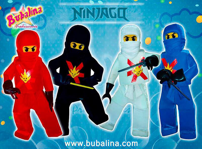 ninjago para fiestas infantiles