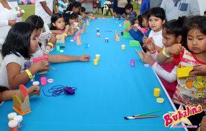 talleres de arte para fiestas infantiles