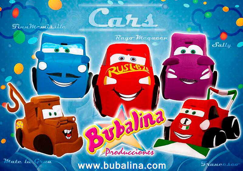 cars para fiestas infantiles