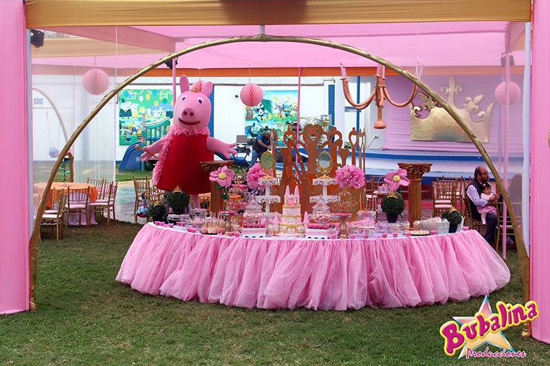 decorativos de peppa pig para cumpleaños