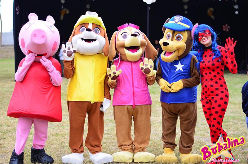 Personajes y muñecos para fiestas infantiles