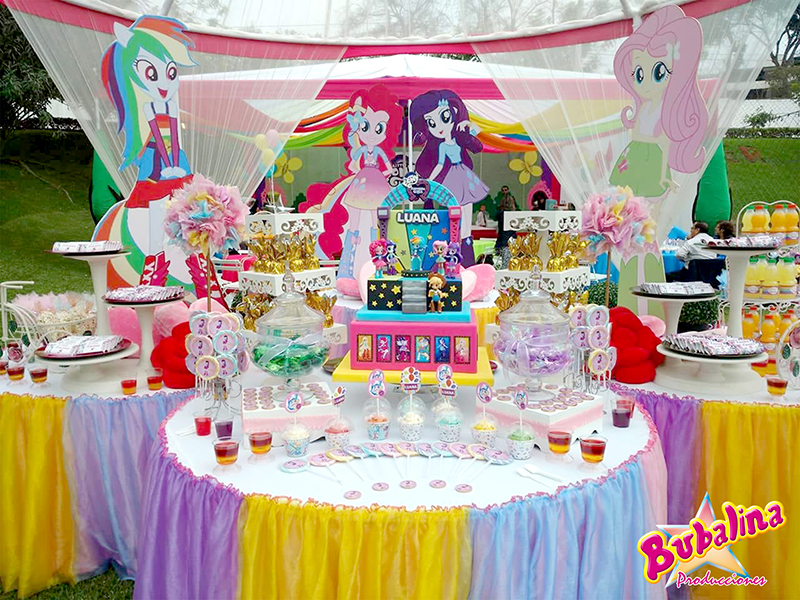 decoraciones my little pony para fiestas infantiles