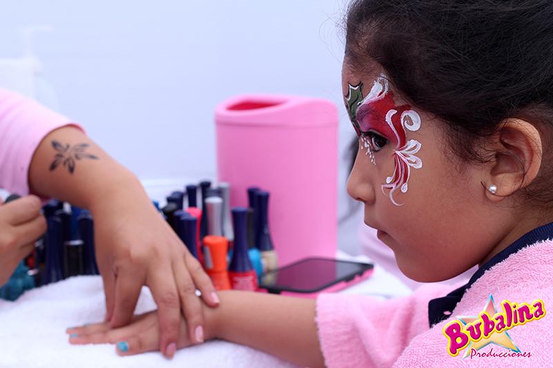 servicio de manicure para niñas y fiestas infantiles
