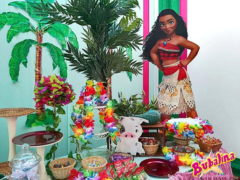 decoracion moana para fiestas infantiles