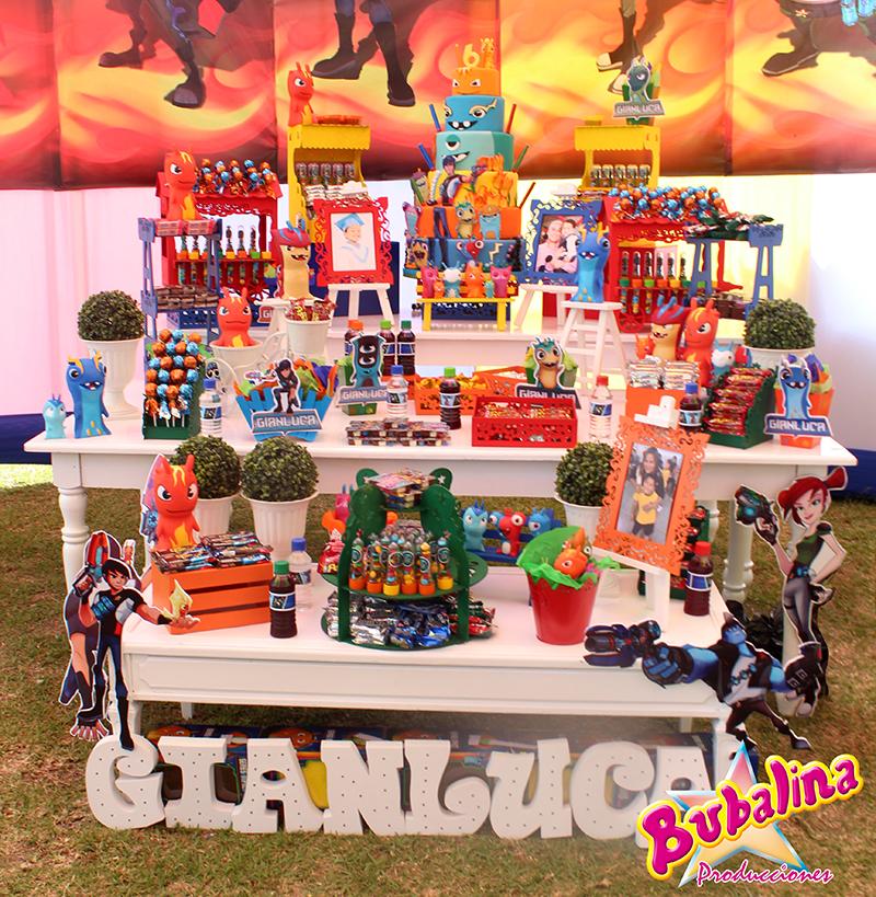 servicio de catering y snacks para cumpleaños infantiles