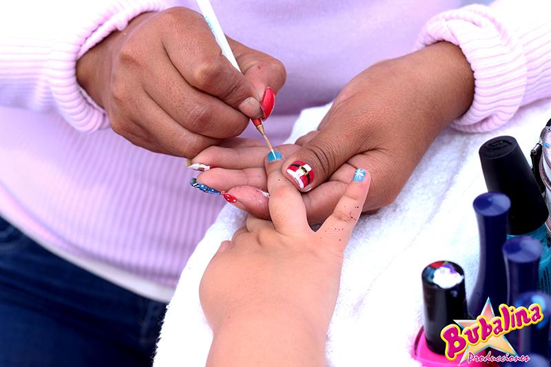 manicure para niñas y fiestas infantiles