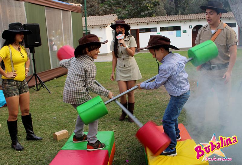 juegos de competencia para fiestas infantiles