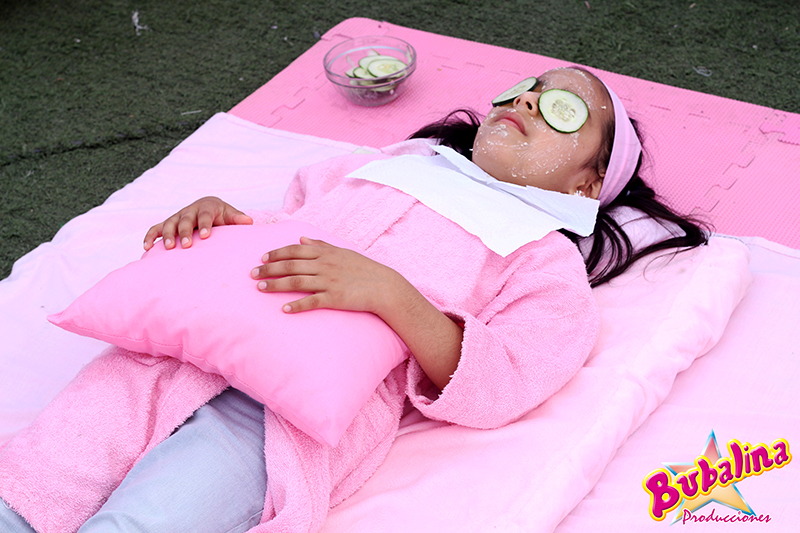 mini spa para niñas y fiestas infantiles