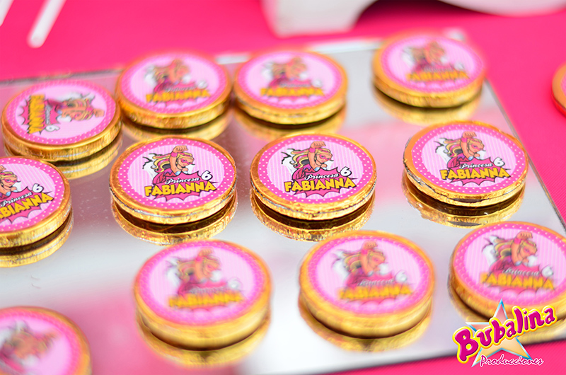 snacks personalizados para fiestas infantiles