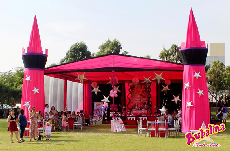servicio de toldos y decoraciones para cumpleaños infantiles