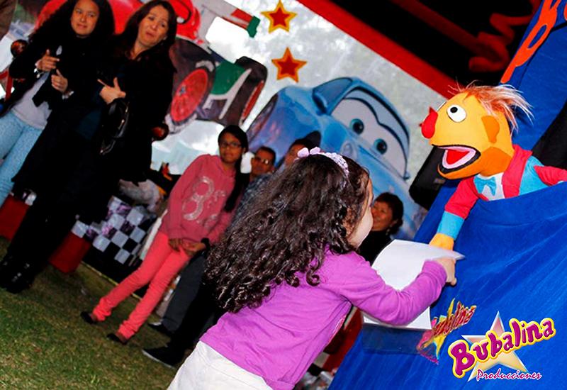 show de titeres para fiestas infantiles