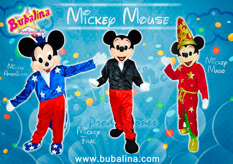 micky mouse para fiestas infantiles