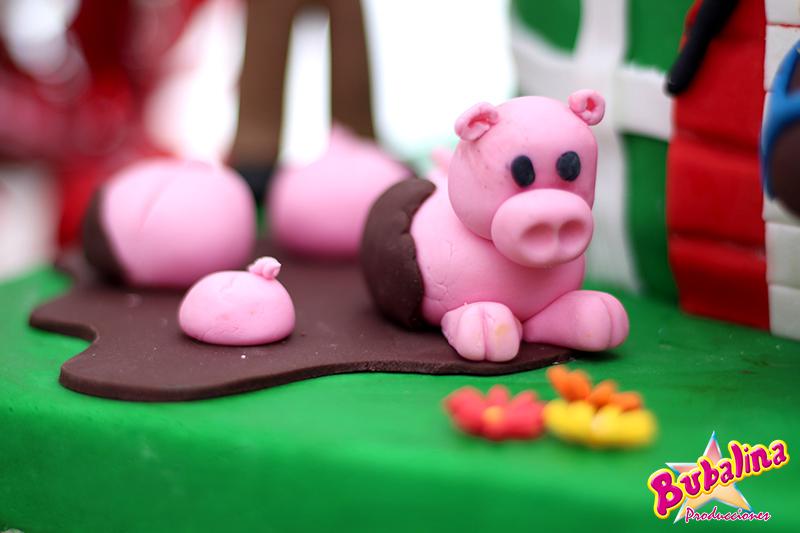bocaditos de alto relieve para fiestas infantiles