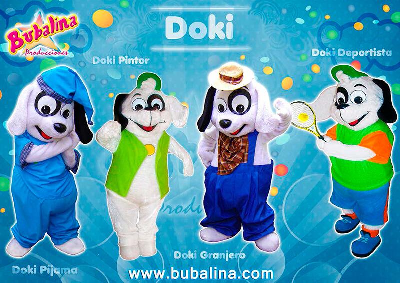 Doki para fiestas infantiles