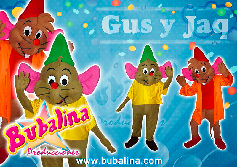 Shows infantiles de gus y jaq