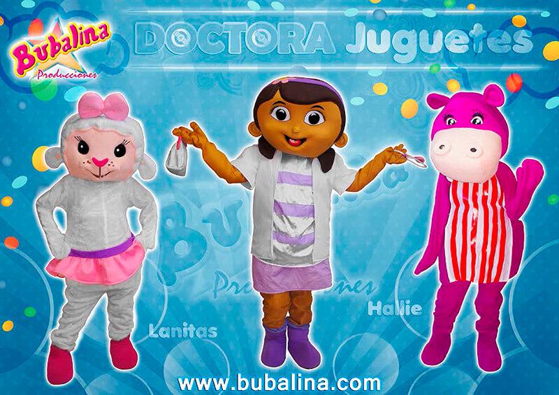 doctora juguetes para fiestas infantiles