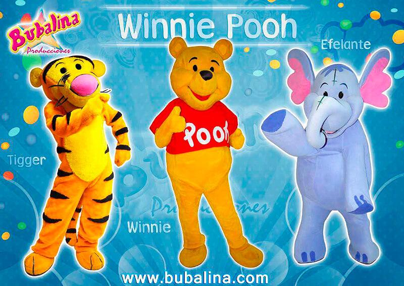 winnie pooh shows y fiestas infantiles