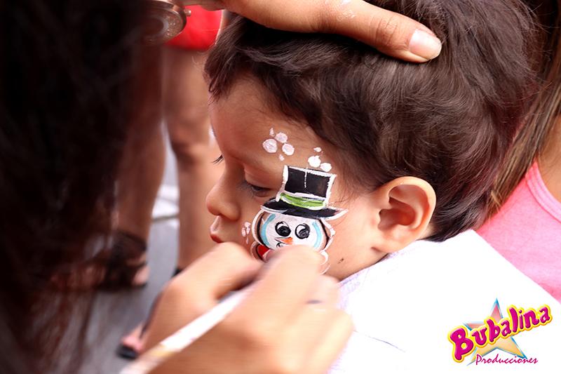 servicio de caritas pintadas para niños pequeños y fiestas infantiles