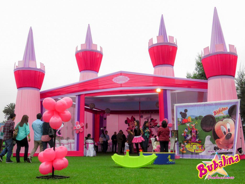 Toldo Minnie Mouse para fiestas infantiles