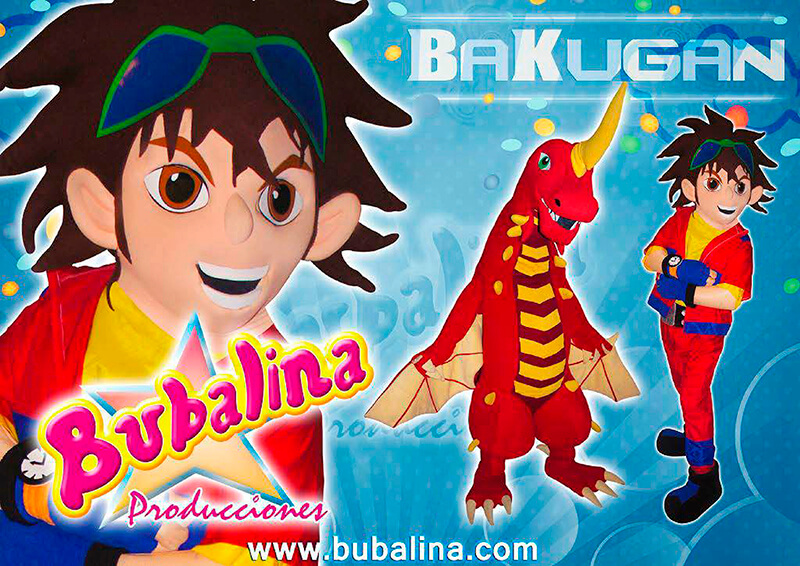 bakugan para shows infantiles