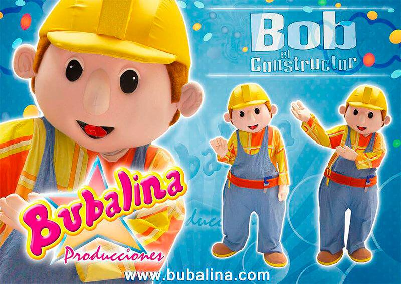 bob el constructor para shows infantiles