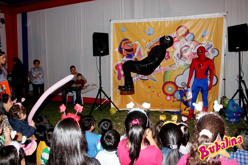 fiestas infantiles de spider man