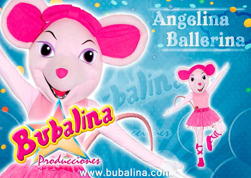 fiestas infantiles de angelina ballerina