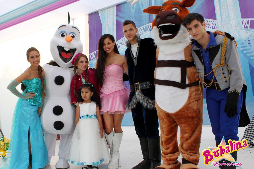 shows de frozen para fiestas infantiles