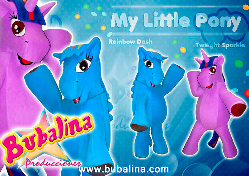 show infantil my little pony