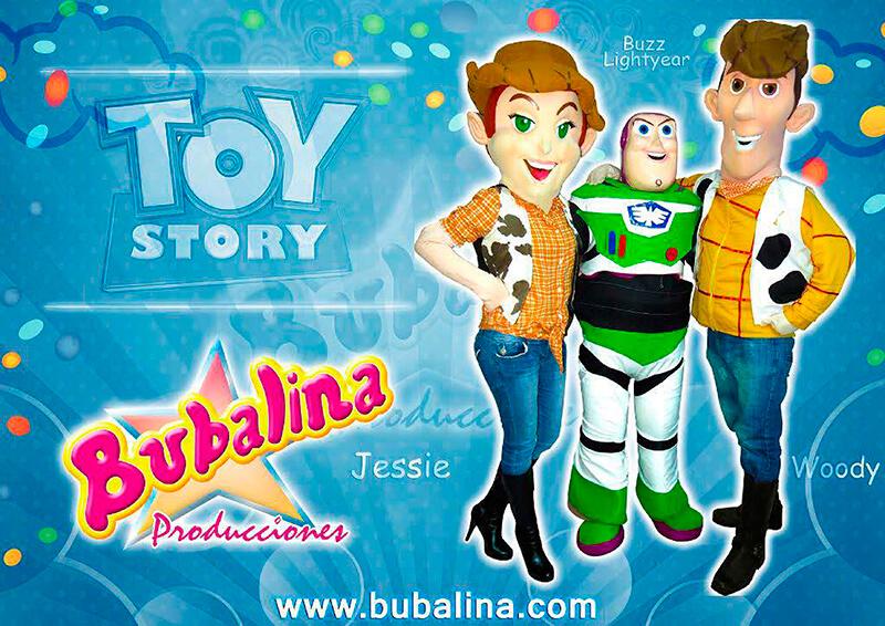 Show de toy story para fiestas infantiles