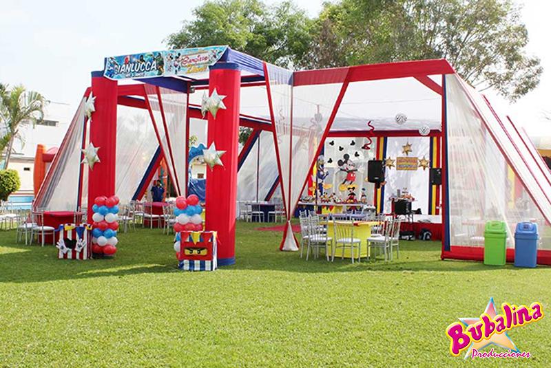 toldos y decoracion para eventos infantiles