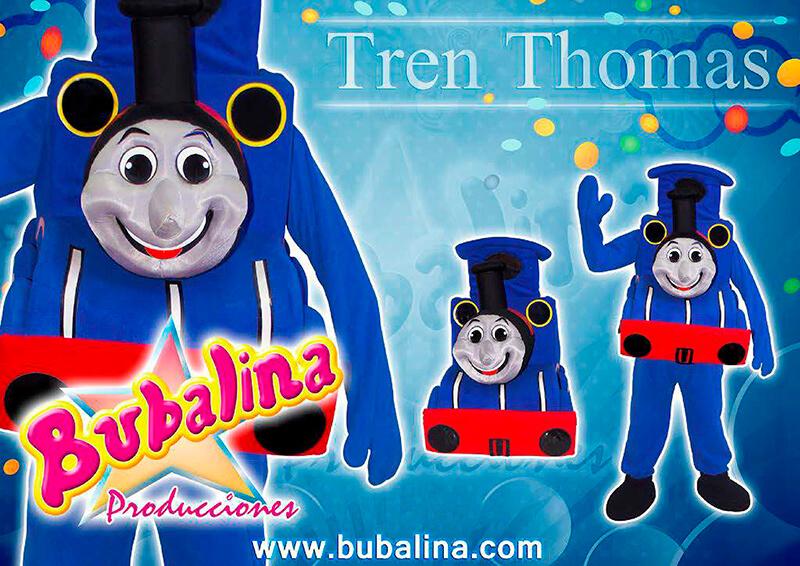 el tren thomas para show y fiestas infantiles