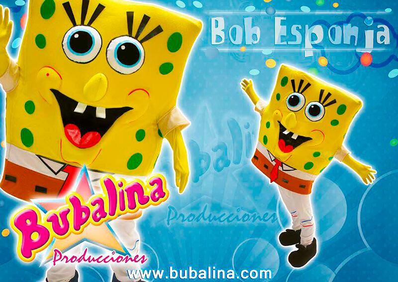 show infantil bob esponja y fiesta infantil