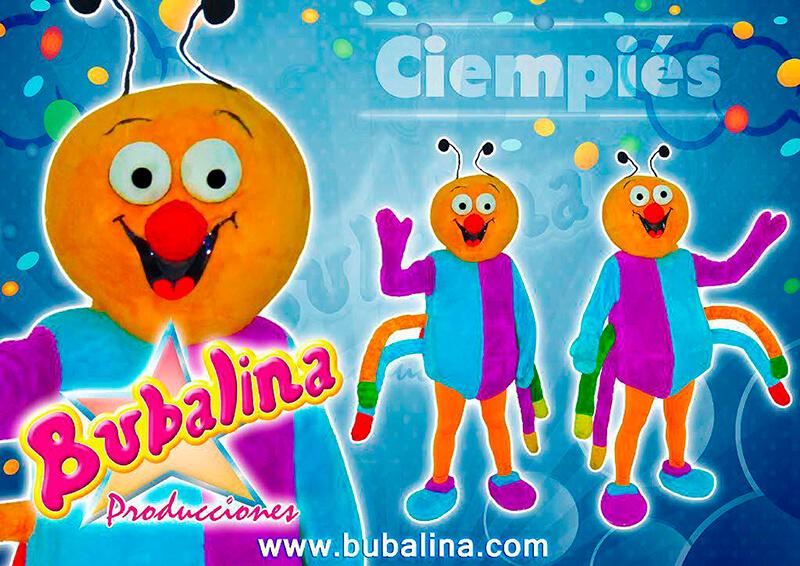 Show infantil de ciempiés y fiesta infantil