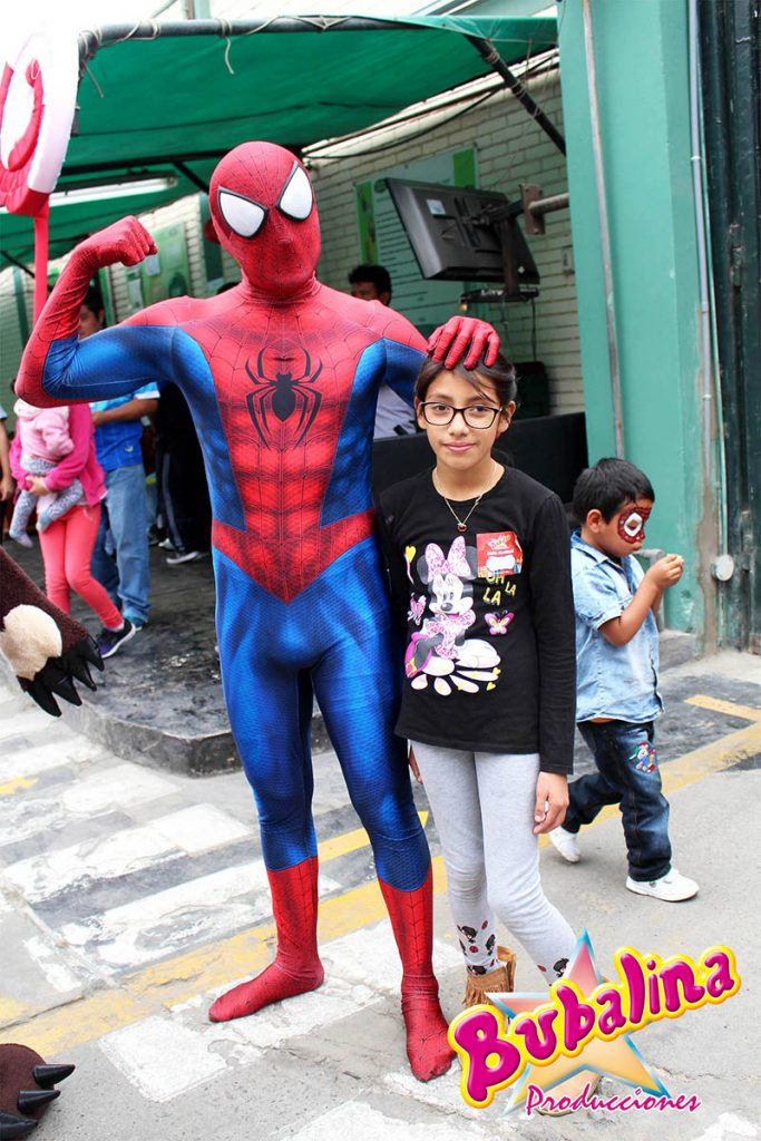 Spider Man para shows infantiles