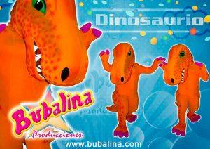 Show de dinosaurios para fiesta infantil