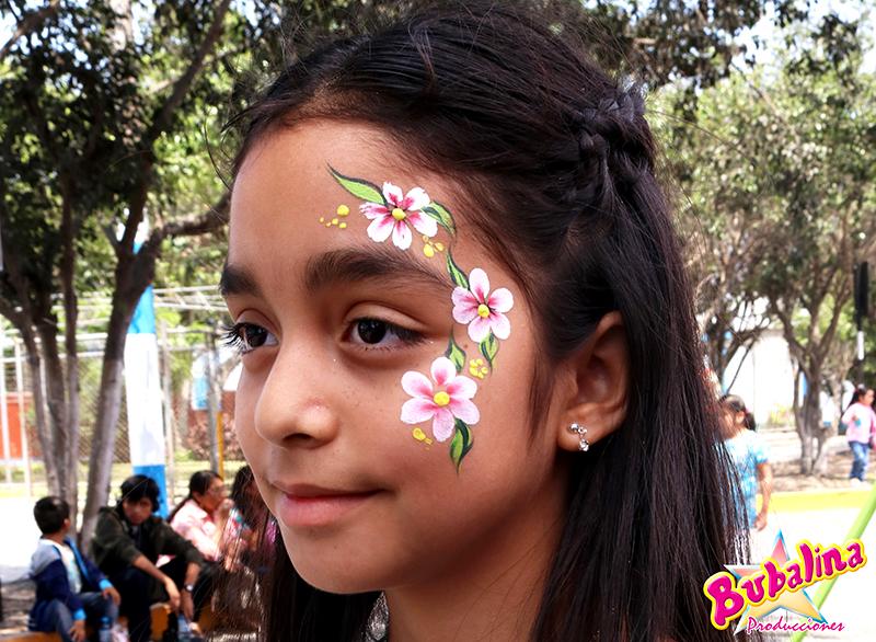 servicio de caritas pintadas para niños