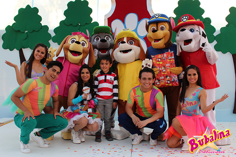 Shows infantiles de Paw Patrol