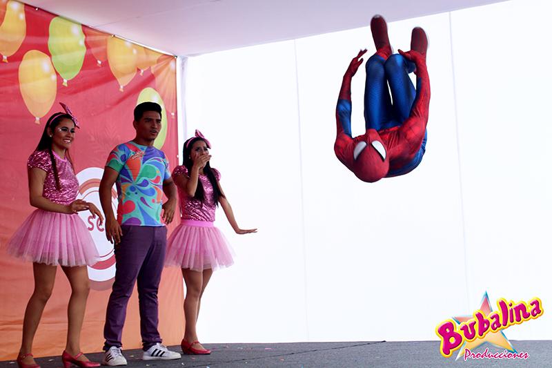 Spider Man para fiestas infantiles